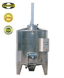Speidel fixed capacity stainless steel tank for red wine