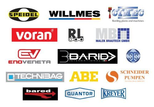 Trusted carefully chosen suppliers