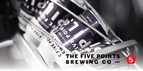 Five Points Brewing Co - canning