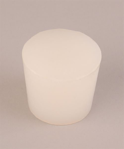 55 to 48mm taper Ø x 50mm high solid silicone bung