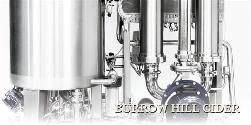 Burrow Hill Cider - filtration