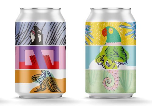 Canopy Beer cans