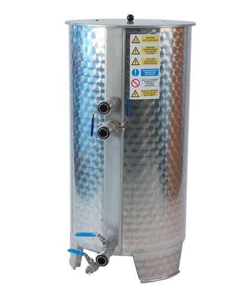 220 litre CIP (clean in place) tank system