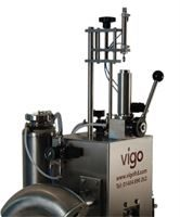 Semi-automatic disgorging, dosing and topping up machine
