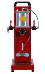 Pneumatic crown capping machine