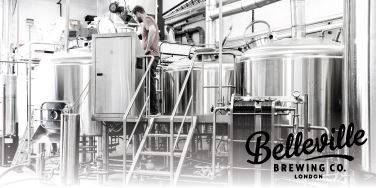 Belleville Brewing Co - brewhouse