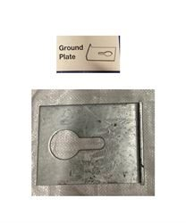 Diagram and photo of a Fenox Ground Plate