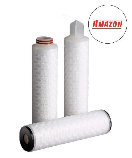 The SupaPore FPW range of Amazon filters (smaller size shown)- NB The SupaPore FPW we stock have Code 7 ends - this photo includes many different end types