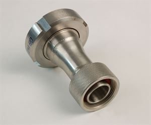 "1¼"" BSP female x DIN 40 female stainless steel adaptor"