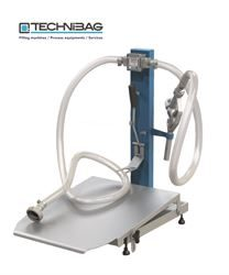 Firsty Top 120 manual filling machine for vacuum bags
