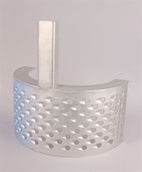 Grater with 12mm Ø perforations for WAR65 mill