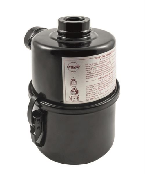 Oil bath filter for Enolmaster- NB Supplied with hosetails (not shown) and hose to connect to Enolmaster