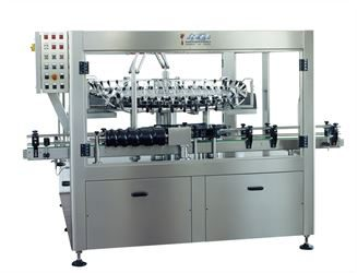 Automatic bottle rinser