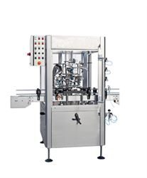 Smalles model of automatic rotary disgorging, dosing and topping up machine