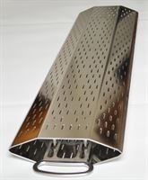 Vertical perforated juice channel from Willmes Merlin PLUS+ horizontal pneumatic pres