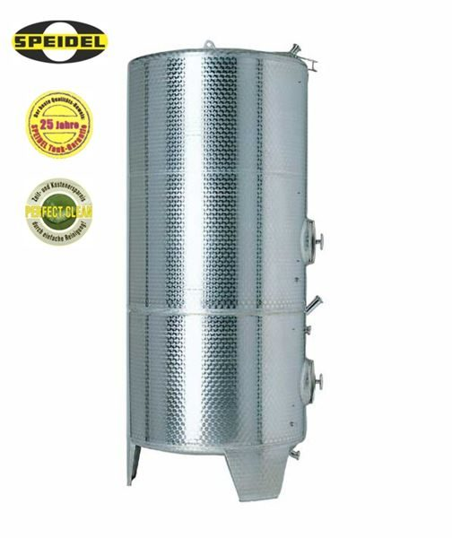 Speidel fixed capacity multi-chamber stainless steel tank