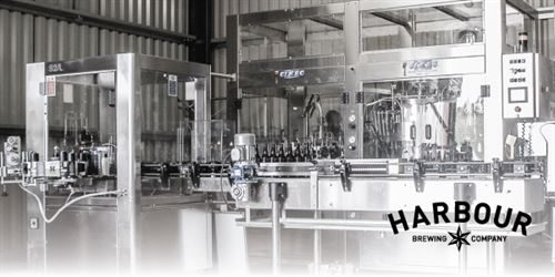 The Harbour Brewing Co - bottling line