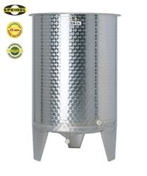 Speidel variable capacity stainless steel tank on legs - type FO1